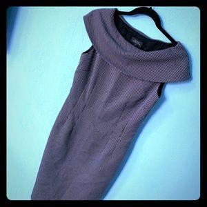 Tahari Black Business Dress